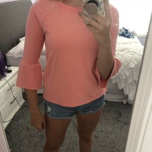 Aerie coral sweater